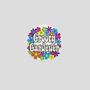 Groovy Gardener Mini Button