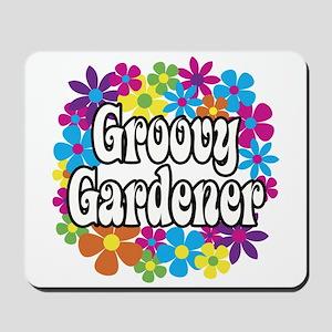 Groovy Gardener Mousepad