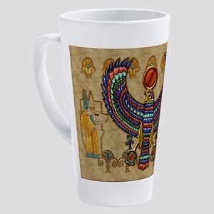 Harvest Moons Egypt Hawk 17 oz Latte Mug
