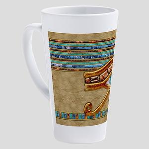 Harvest Moons Eye of Horus 17 oz Latte Mug