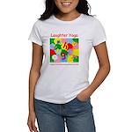 Laughter Yoga SHORTEST DISTANCE Women's T-Shirt
