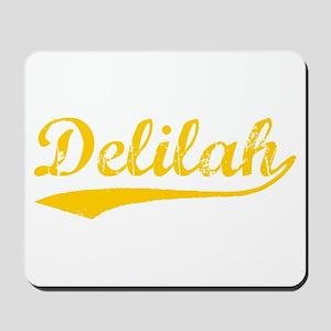 Vintage Delilah (Orange) Mousepad