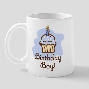 Birthday Boy Cupcake Mug