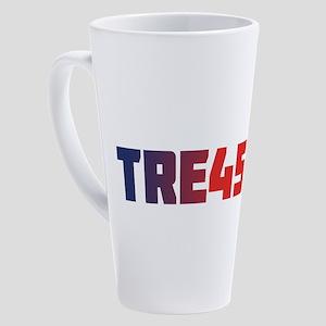 TRE45ON 17 oz Latte Mug