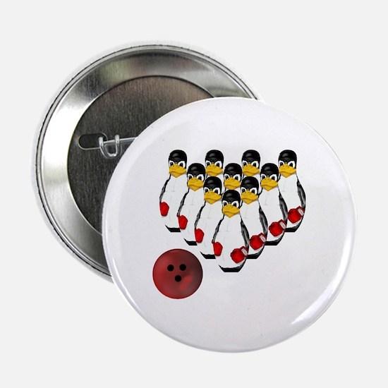 Tux - Linux Bowling Pins Button