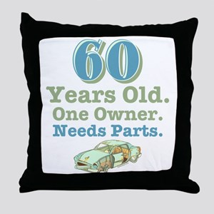 Needs Parts 60 Throw Pillow