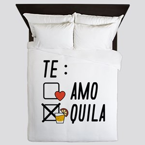 Te AmoTe Quila Queen Duvet