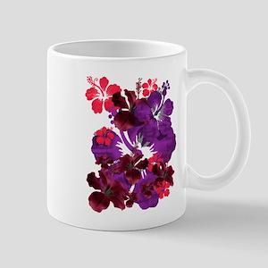 Hibiscus 11 oz Ceramic Mug