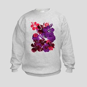 Hibiscus Kids Sweatshirt