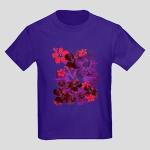 Hibiscus Kids Dark T-Shirt
