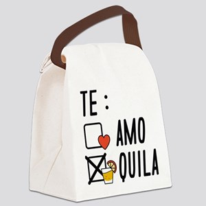 Te AmoTe Quila Canvas Lunch Bag