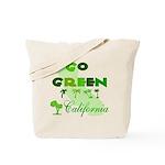 Go Green California Reusable Tote Bag