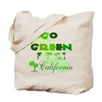 Go Green California Reusable Tote Bag