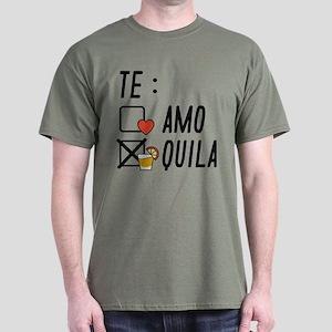 Te AmoTe Quila Dark T-Shirt