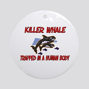 Killer Whale trapped in a human body Ornament (Rou