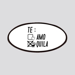Te AmoTe Quila Patches