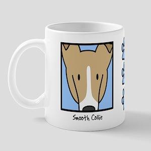 Anime Sable Smooth Collie Mug