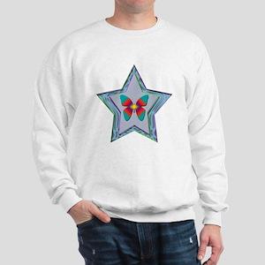 Butterfly Star Sweatshirt