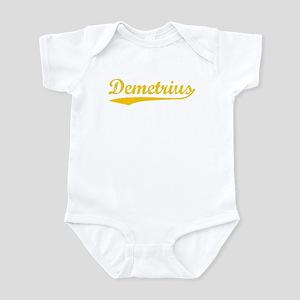 Vintage Demetrius (Orange) Infant Bodysuit