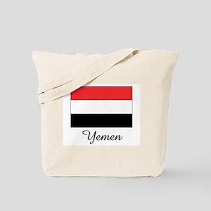 Yemen Flag Tote Bag