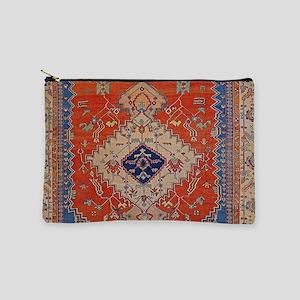Antique Persian Bakshaish Oriental Rug Makeup Bag