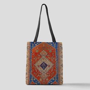 Antique Persian Bakshaish Oriental Rug Polyester T