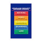 HOMOLAND SECURITY Rectangle Sticker