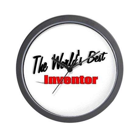 """The World's Best Inventor"" Wall Clock"