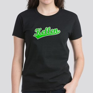 Retro Kellen (Green) Women's Dark T-Shirt