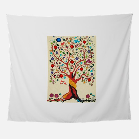 TREE OF LIFE 7 Wall Tapestry