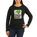 I love Jamaican Accents Women's Long Sleeve Dark T