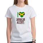 I love Jamaican Accents Women's T-Shirt