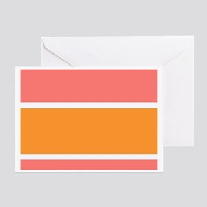 Big Stripe to Personalize Greeting Cards