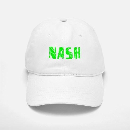 Nash Faded (Green) Baseball Baseball Cap