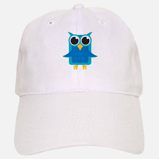 Blue Owl Baseball Baseball Cap