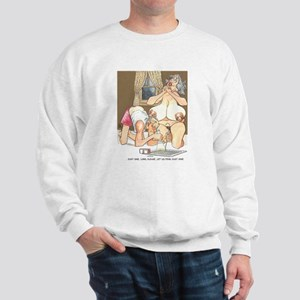Naughty cartoon Sweatshirt