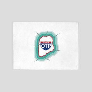 OTP 5'x7'Area Rug