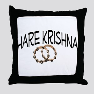 Hare Krishna Throw Pillow