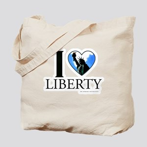 I love Liberty Tote Bag