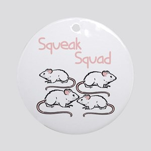 Squeak Squad Ornament (Round)