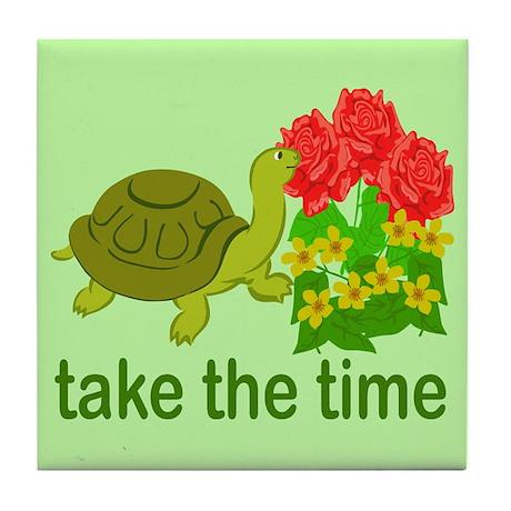 Take the Time Tile Coaster