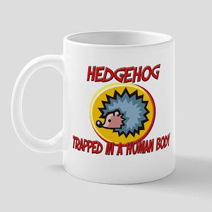Hedgehog trapped in a human body Mug