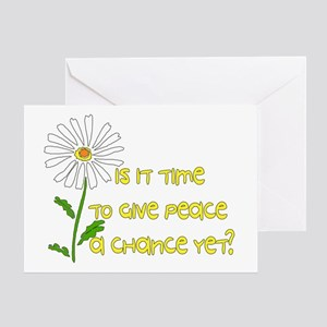 Give Peace A Chance Greeting Card