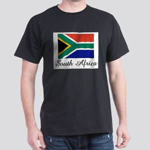 South Africa Flag Dark T-Shirt