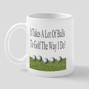 Golf Balls Mug