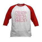 Right-Wing Girl Kids Baseball Jersey