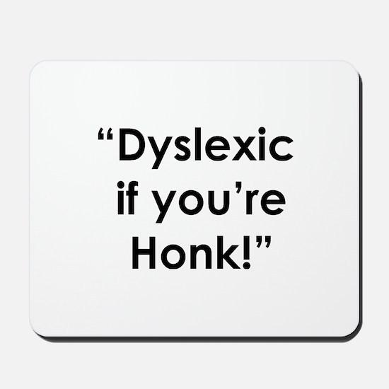 Dyslexic Mousepad