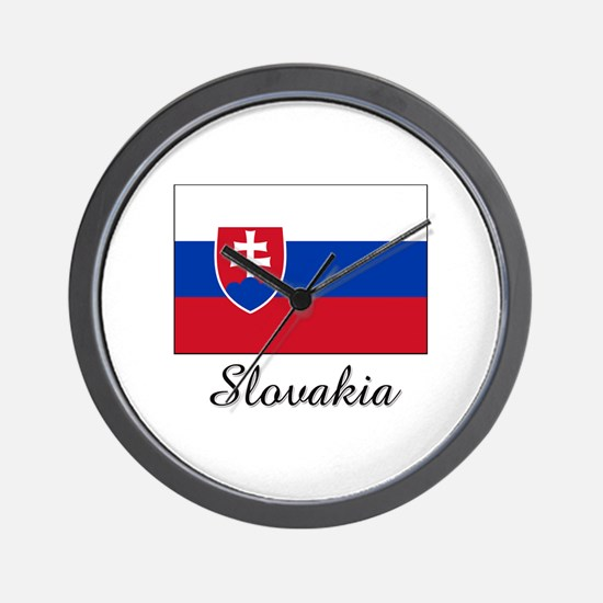 Cute Slovakian Wall Clock