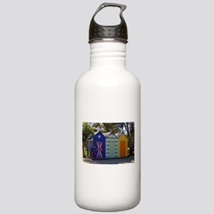 Poolside change huts Stainless Water Bottle 1.0L