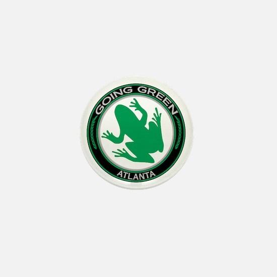 Going Green Atlanta Frog Mini Button